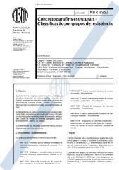 nbr 8953 - concreto para fins estruturais - classificação por grupo de resistência.pdf