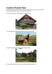 Gambar Rumah Adat Indonesia.docx
