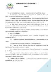 CRESCIMENTO EMOCIONAL liçao 17.doc