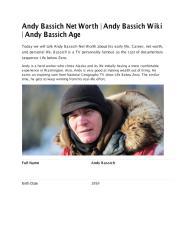 Andy Bassich Net Worth.pdf