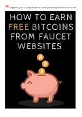 A Beginner's Guide To Earning Free Bitcoins Online From Faucets.docx