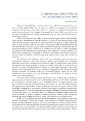 A arquitetura como ciência e como arte.pdf