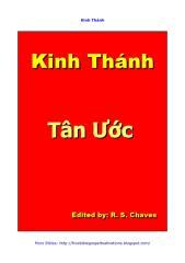 Vietnamese Holy Bible New Testament R S Chaves 2012 PDF.pdf
