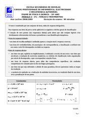 EXAME RECURSO DO MÓDULO F1 - FORÇAS E MOVIMENTOS - 10ºANO.doc