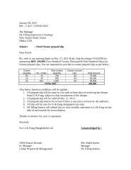 Letter for Prepaid slip - TR 1.doc
