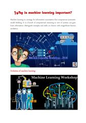 Why is machine learning important.pdf