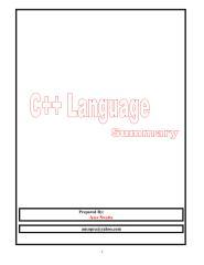 كتاب تعلم لغة البرمجة ++c بالعربي.pdf